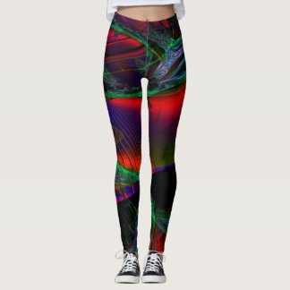 Fractal Leggings, Andromeda Leggings