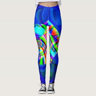 Fractal Leggings, Cubism Leggings