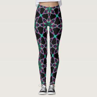 Fractal leggings Psychedelic Kaleidoscope