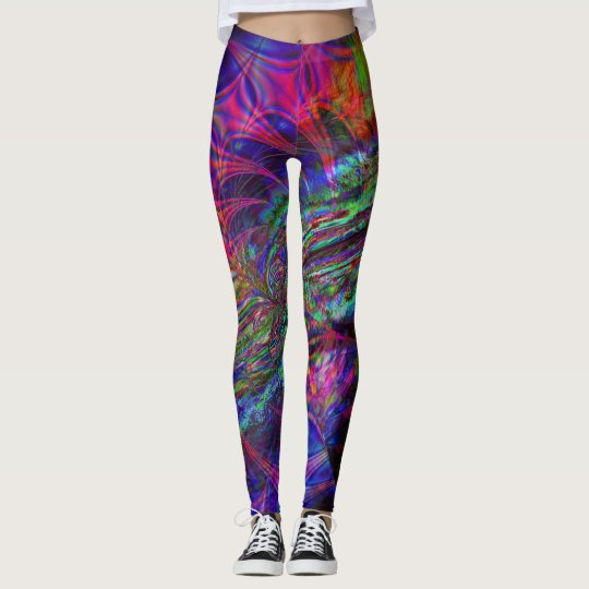 Fractal Leggings, Storm Leggings