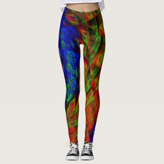 Fractal Leggings, Tornado Leggings