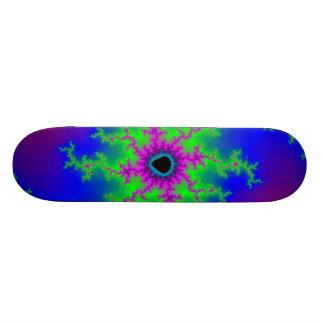 Fractal Lightning: Custom Skateboard
