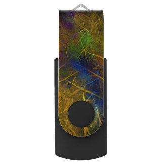 Fractal Lightning (Storm Flame) USB Flash Drive