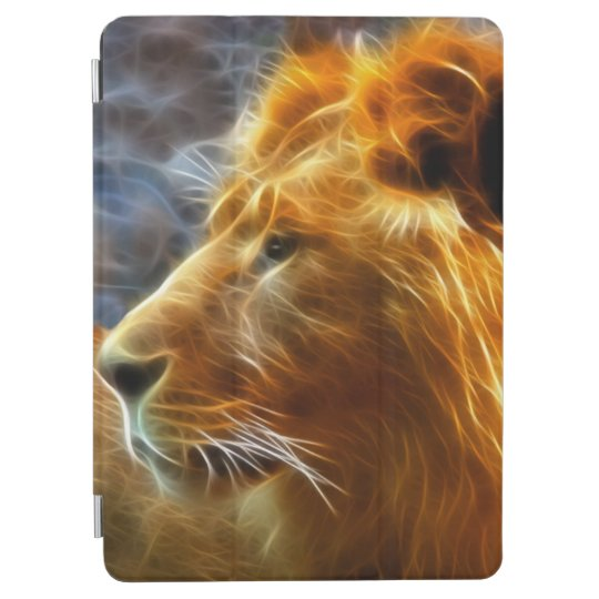 Fractal lion iPad case