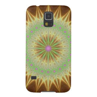 Fractal mandala sun galaxy s5 case