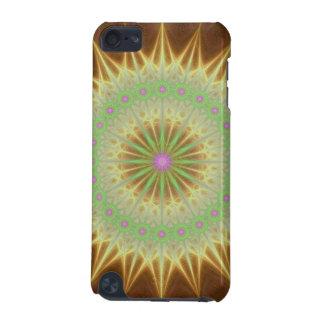 Fractal mandala sun iPod touch 5G case