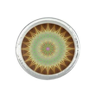 Fractal mandala sun ring