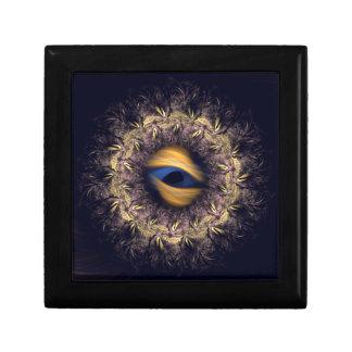 Fractal Mandala Trinket Box