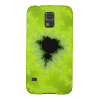 Fractal Mandelbrot Green Galaxy S5 Cover