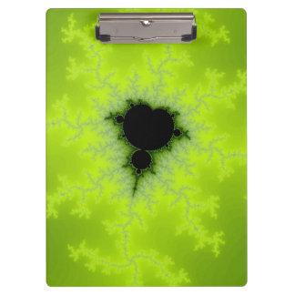 Fractal Mandelbrot Green Clipboard