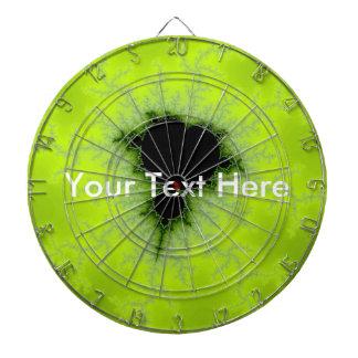 Fractal Mandelbrot Green Dartboards