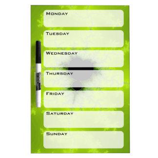 Fractal Mandelbrot Green Dry-Erase Boards