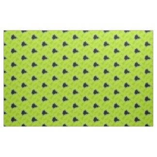 Fractal Mandelbrot Green Fabric