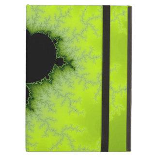 Fractal Mandelbrot Green iPad Air Covers