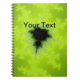 Fractal Mandelbrot Green Note Book