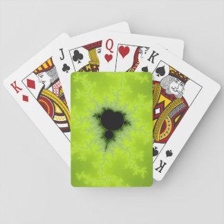 Fractal Mandelbrot Green Card Decks