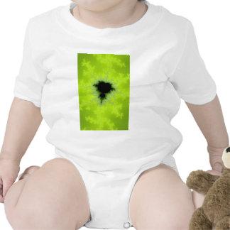 Fractal Mandelbrot Green Bodysuits