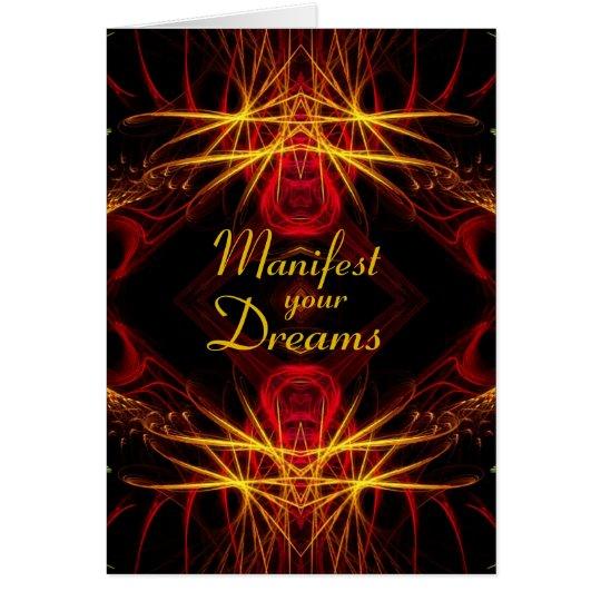 Fractal Manifest Card