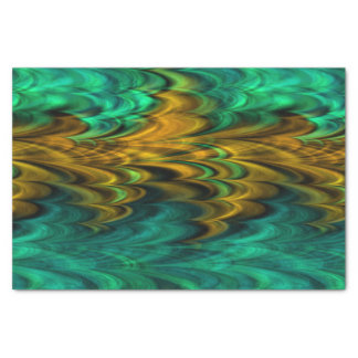 Fractal Marble 4-4A Tissue Paper