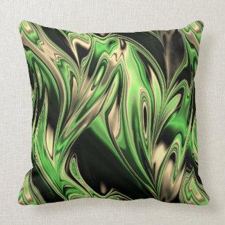 Fractal Marble 6-3 Throw Pillow