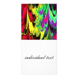 fractal marbled 14 (L) Picture Card