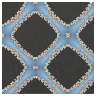 Fractal Material Fashion Fabric by Artful Oasis