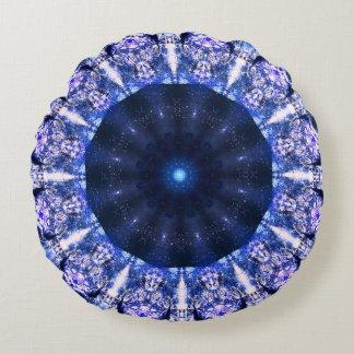 Fractal Meditation Round Pillow