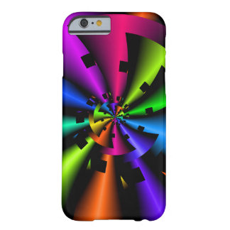 Fractal Metallic Rainbow Barely There iPhone 6 Case