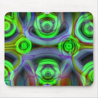 Fractal Mousepad - Green
