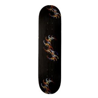 Fractal Multicolored Skate Board Decks