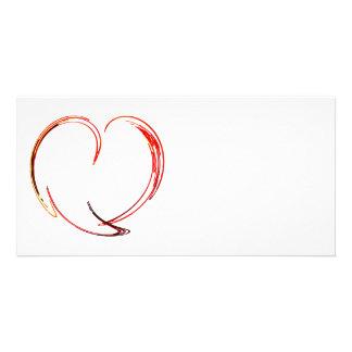 Fractal - My Heart Photo Greeting Card