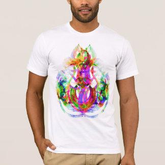 Fractal Om Reflex T-Shirt