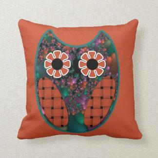 Fractal Owl Pillow