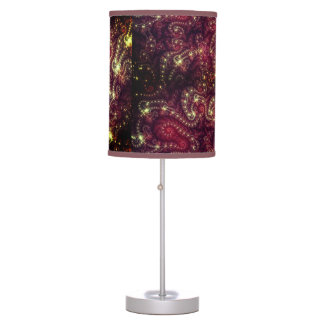 Fractal Paisley Table Lamp