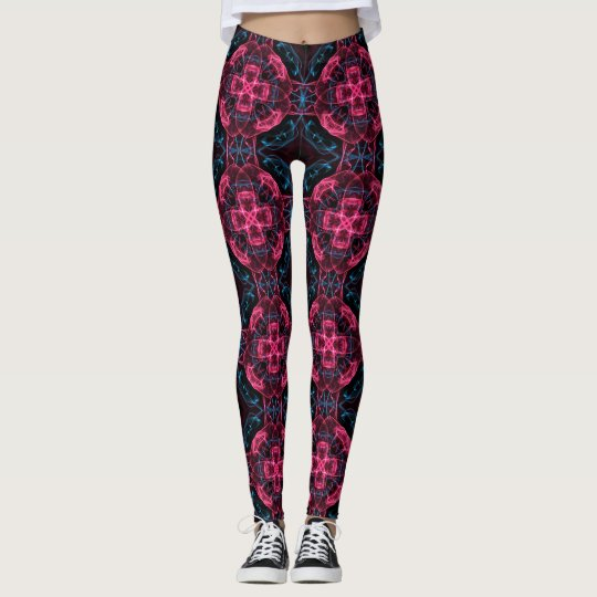 fractal pattern leggings