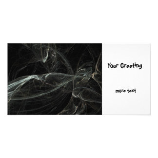 Fractal Personalized Photo Card