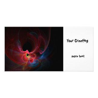 Fractal Photo Card Template