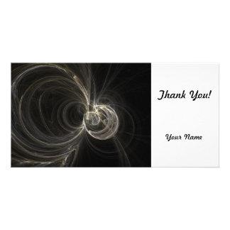 Fractal Photo Greeting Card
