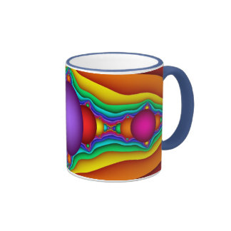 Fractal Pinball Mug
