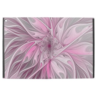 "Fractal Pink Flower Dream, Floral Fantasy Pattern iPad Pro 12.9"" Case"