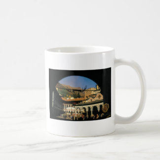 fractal products classic white coffee mug
