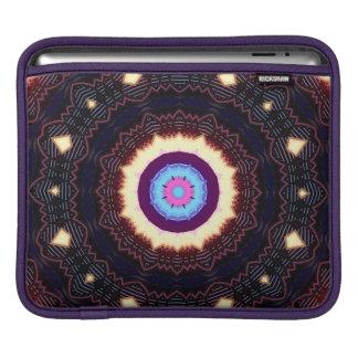 fractal purple green ipad sleeves for iPads