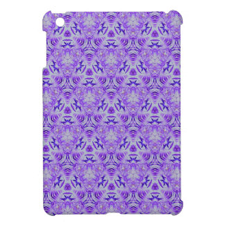 Fractal Purple lovers Seamless personal background Cover For The iPad Mini