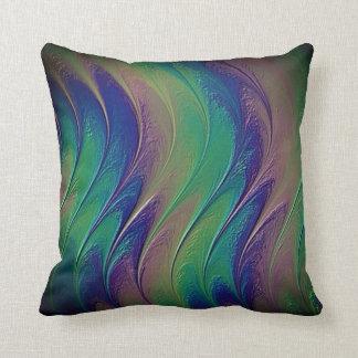Fractal Recoleta Throw Pillow