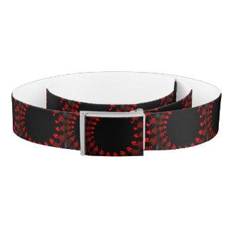 Fractal Red Black White Belt