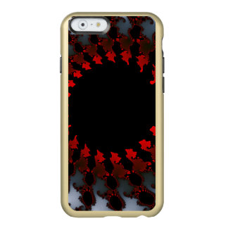 Fractal Red Black White Incipio Feather® Shine iPhone 6 Case