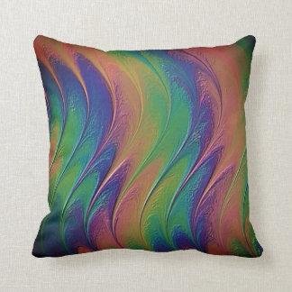 Fractal Sangriia Throw Pillow