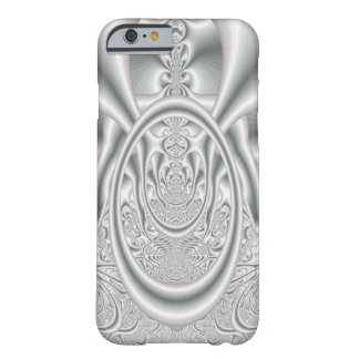 Fractal Satin iPhone 6/6s, Barely There Phone Case