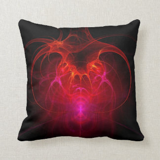 Fractal - Science - The neural network Throw Pillow
