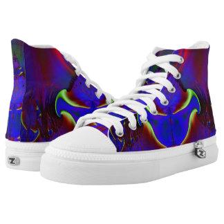 Fractal Shoes, Aladdin's Lamp High Tops
